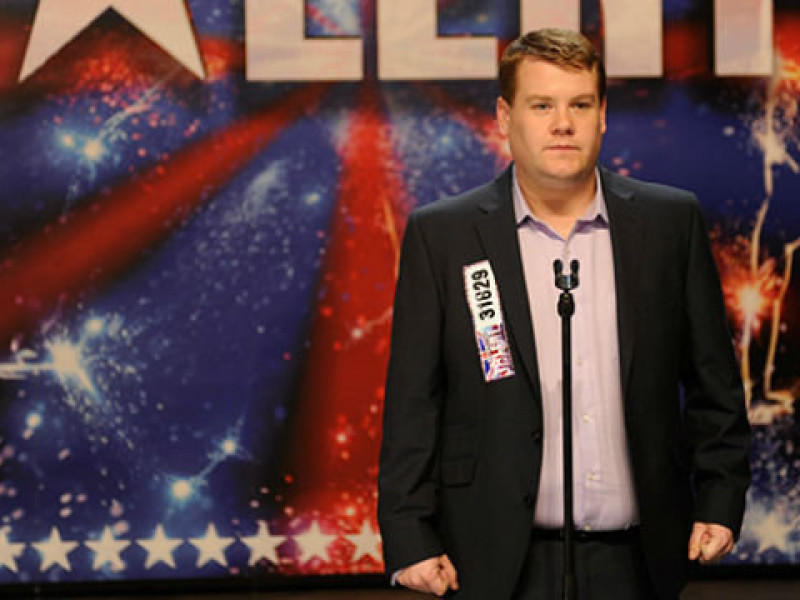James Corden in 'One Chance'