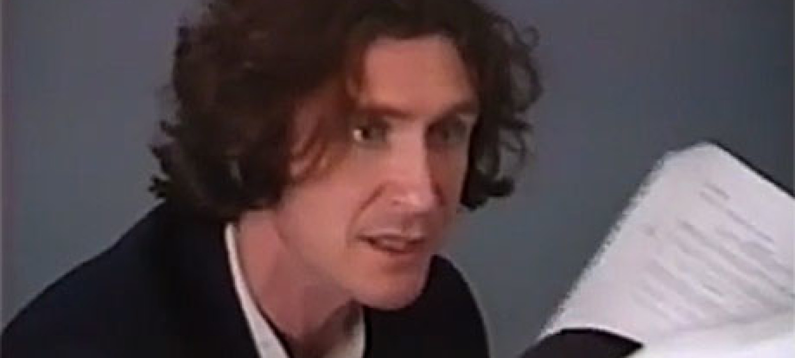 Paul McGann's Eight Doctor audition