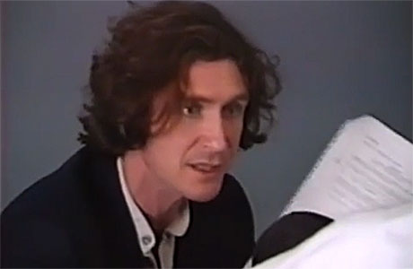 Paul McGann auditions to be the Eighth Doctor