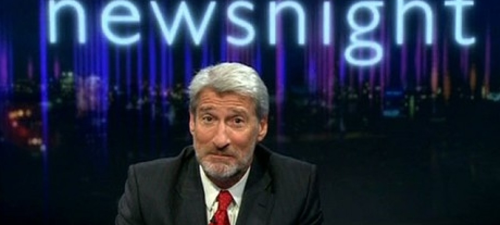 Jeremy Paxman, host of 'Newsnight' (BBC)
