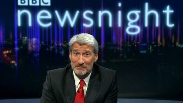 Jeremy Paxman, host of 'Newsnight' (BBC)