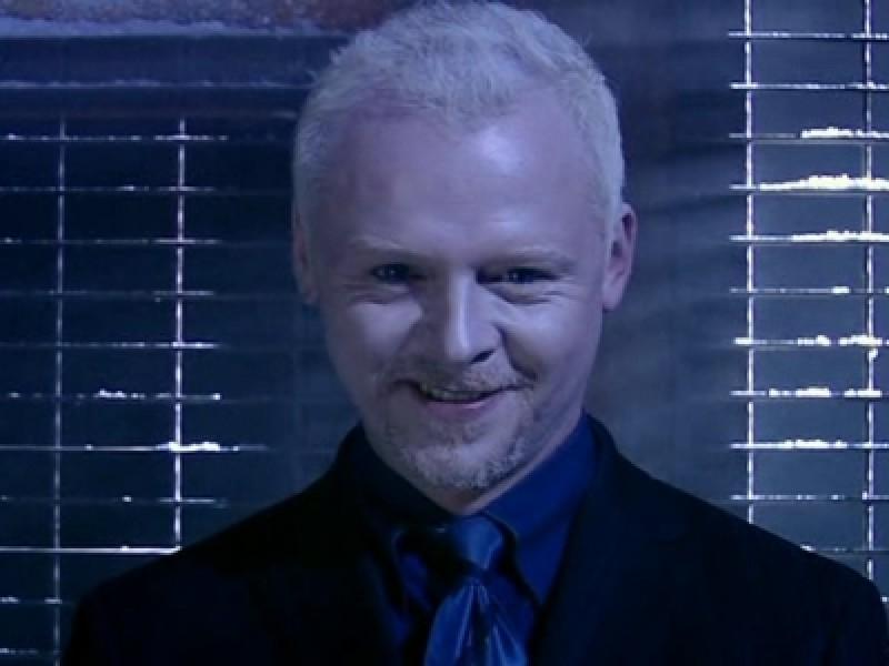 Simon Pegg in 'Doctor Who'