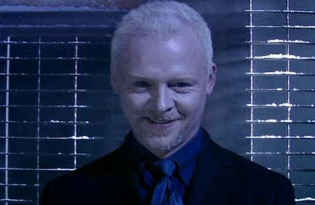 Simon Pegg in 'Doctor Who'