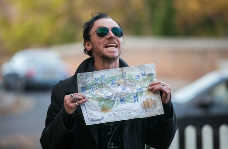 Simon Pegg in 'The World's End'