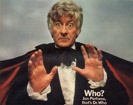 Radio Times announces the arrival of the Third Doctor