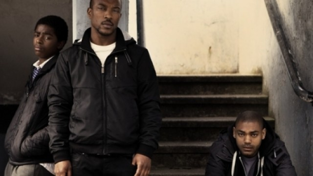 Malcolm Kamulete, Ashley Walters and Kane Robinson in 'Top Boy' (Channel 4)