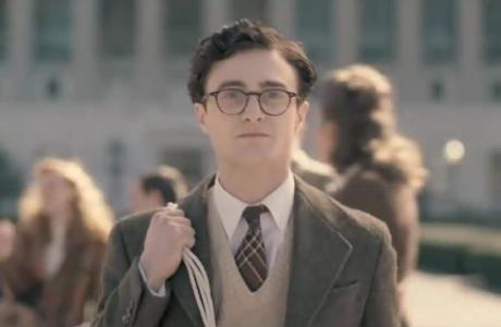 Daniel Radcliffe as Allen Ginsberg in Kill Your Darlings.