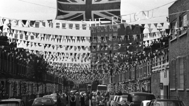 Great Britain London Queen Elizabeth II Silver Jubilee