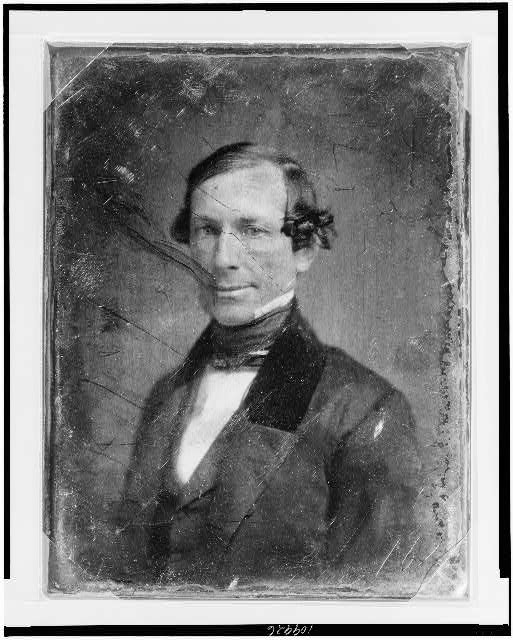 Fernando Wood, Mayor of New York, 1855-57 and 1860-62 (via Library of Congress)