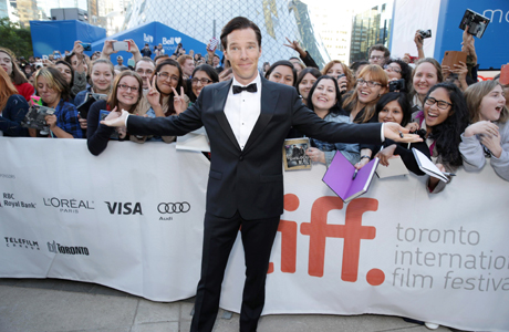 Benedict Cumberbatch at the Toronto Film Festival. (Photo: DreamWorks)