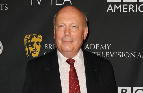 Julian Fellowes at the BAFTA Los Angeles TV Tea party on September 21. (Photo: Andreas Branch/Patrick McMullan/Sipa USA)