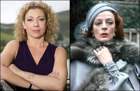 Your 2013 finalists: Alex Kingston and Dame Maggie Smith. (Photos: BBC)