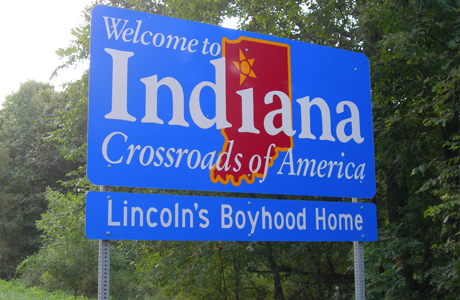 Welcome to Indiana! (Photo: Creative Commons)