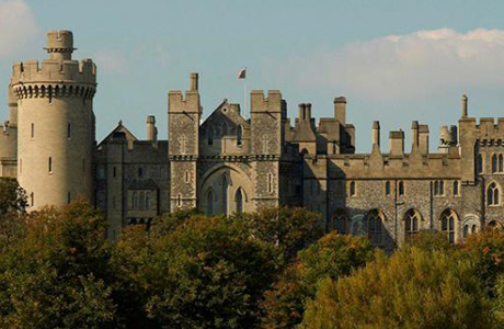 Arundle Castle is sat on top of a hill in West Sussex. (ArundleCastle.org)