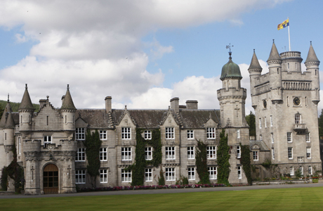 Balmoral Castle is the Queen's Scottish home in Aberdeenshire. (AP)