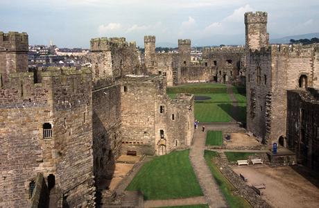 Caernarfon Castle (WC)