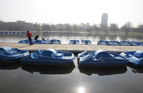 Serpentine Lake/Hyde Park. (AP)