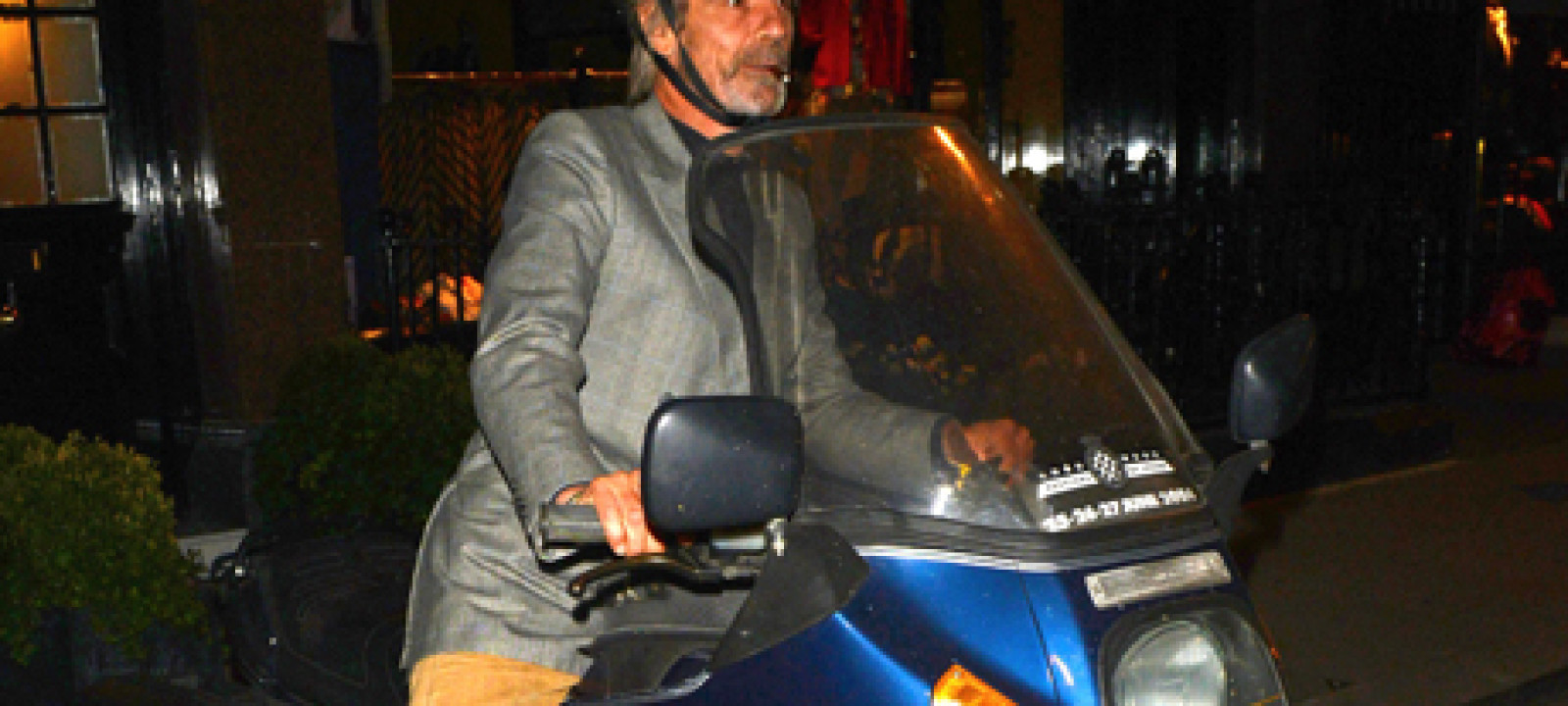 Jeremy Irons leaving Scott's Restaurant, London, Britain – 10 Ju