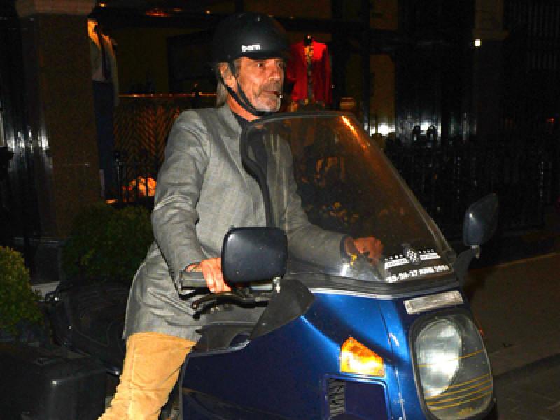 Jeremy Irons leaving Scott's Restaurant, London, Britain – 10 Ju