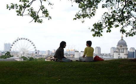 Greenwich Park. (AP)