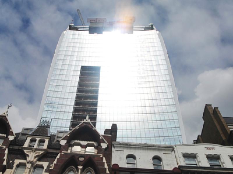 Britain Blistering Building