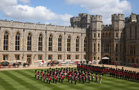 Windsor Castle is a royal residence in Berkshire, England. (AP)