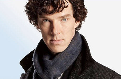 Benedict Cumberbatch as Sherlock in that TV show he does (I forget the name)