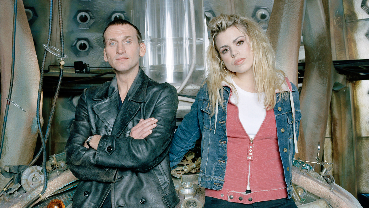 """I can feel it. We're falling through space, you and me, clinging to the skin of this tiny little world. And if we let go... That's who I am. Now forget me, Rose Tyler. Go home."" - The Doctor (""Rose"")"