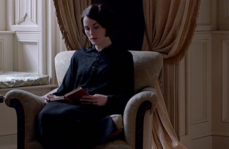 Michelle Dockery as Lady Mary in 'Downton Abbey'