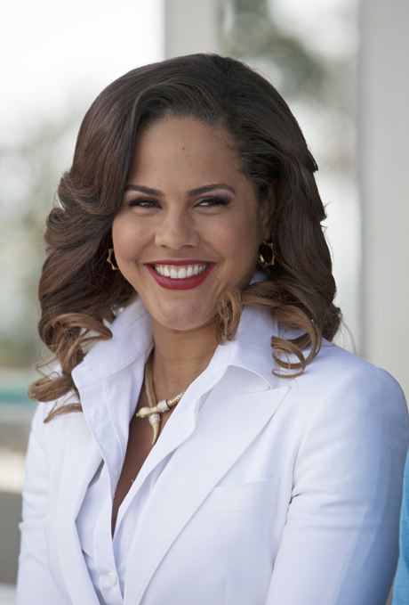 A lively Lenora Crichlow in Back in the Game. (ABC)