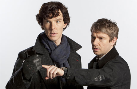 Holmes and Watson and the hunt for good Wifi.
