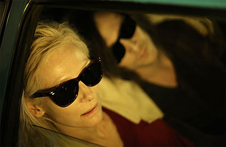 Tilda Swinton and Tom Hiddleston in 'Only Lovers Left Alive'