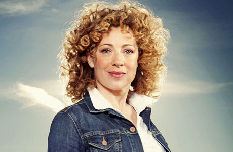 Alex Kingston as 'Doctor Who's River Song. (Photo: BBC)