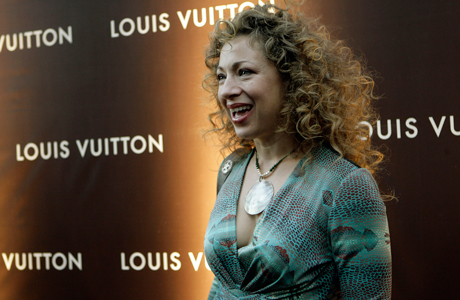 Alex Kingston, seen here in 2007, is the winner of Anglophenia's third annual Anglo Fan Favorites women's tournament, defeating Dame Maggie Smith by a 54-point margin. (Photo: AP/Stuart Ramson)