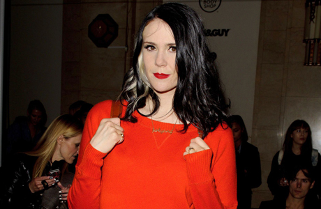 Kate Nash at the Pam Hogg fashion show in September 2013. (Photo: Rex Features via AP Images)