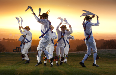 No, Americans will never understand Morris dancing. (Photo: Rex Features via AP Images)