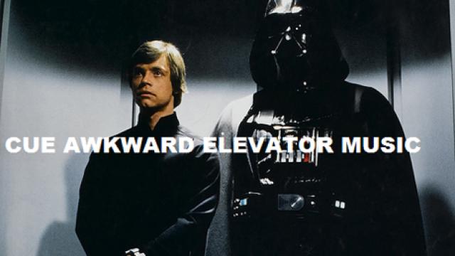 Awkward Elevator Ride
