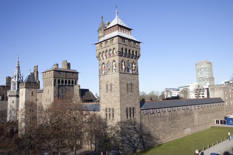 Cardiff Castle. (AP)