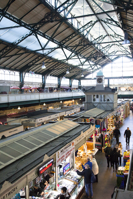 Cardiff Central Market. (AP)