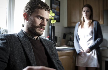 Jamie Dornan plays Paul Spector in The Fall. (BBC2)