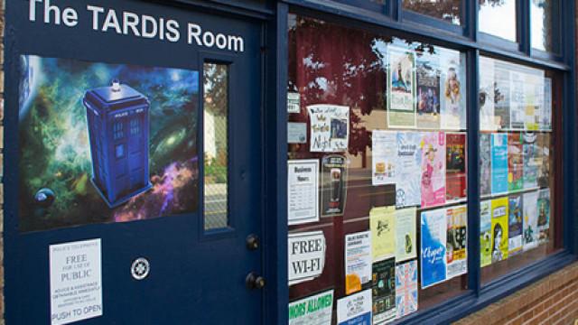 The Tardis Room
