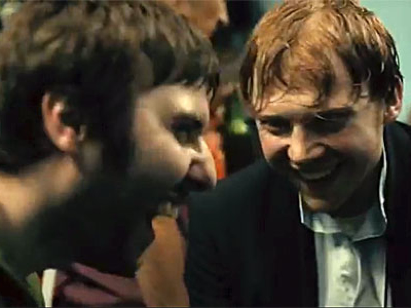 James Buckley and Rupert Grint in 'Charlie Countryman'