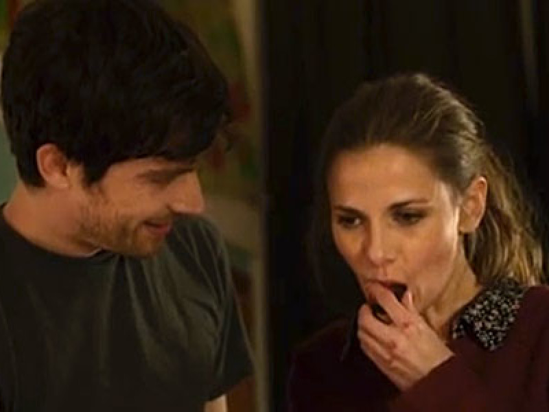 Nico Rogner and Louise Brealey in 'Delicious'