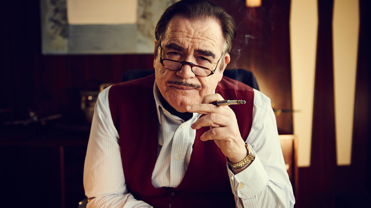 Brian Cox as the BBC's Head of Drama Sydney Newman.