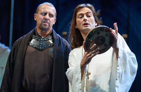 David Tennant in the RSC's production of Shakespeare's 'Richard II'
