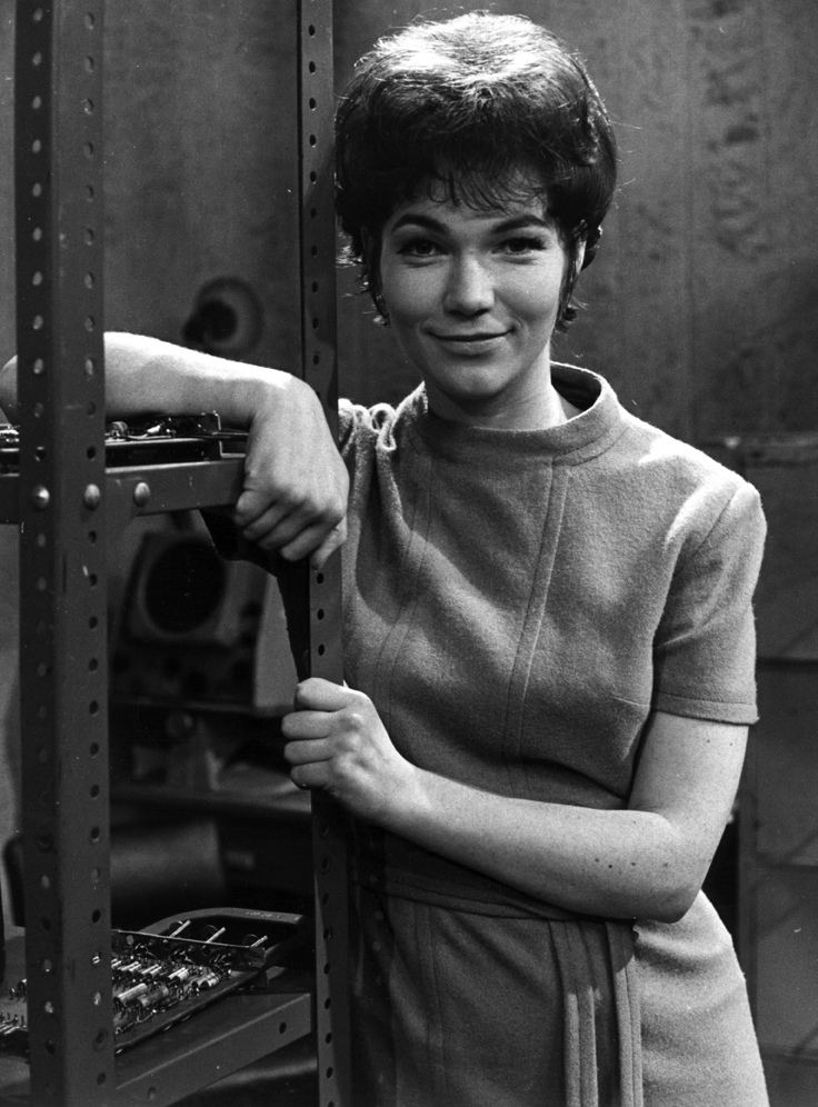 Tina Packer as Anne Travers in 'The Web of Fear' (Photo: BBC)