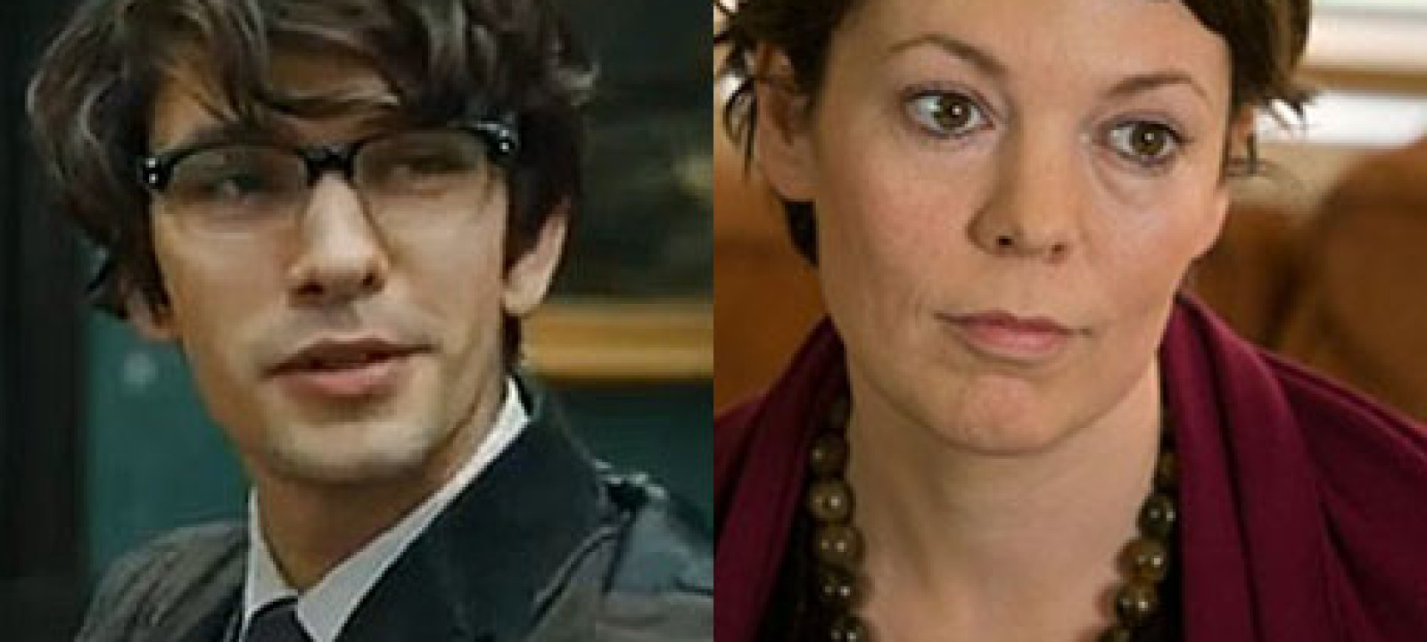 Ben Whishaw and Olivia Colman