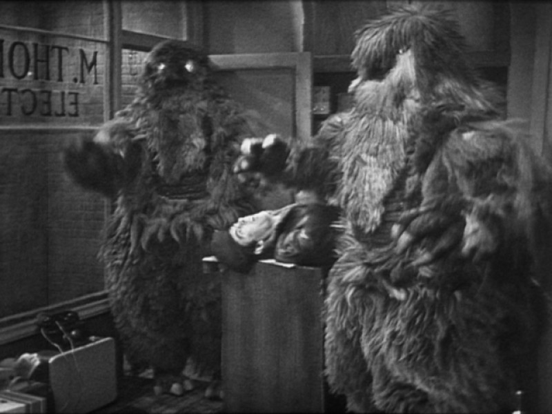 Yeti in 'The Web of Fear'