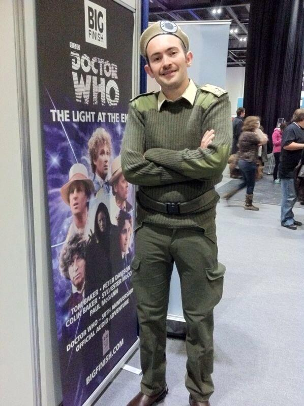 Rob C. as the Brigadier. Nicholas Courtney would be proud. (Photo: Karen Parks)