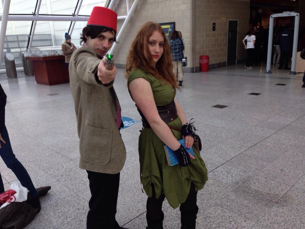 Fez Doctor and River Song (Photo: KW)